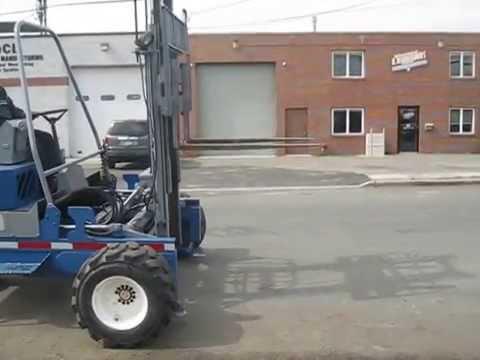 I.4031 Princeton Piggyback D-45 Forklift / Delivery System