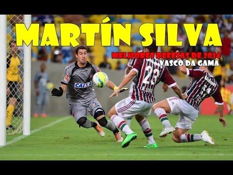 Martín Silva - Melhores defesas no Vasco da Gama