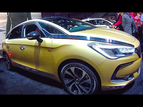 new citroen ds5 2016 2017 interior exterior video youtube. Black Bedroom Furniture Sets. Home Design Ideas