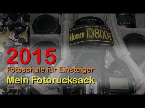 Fotoschule für Einsteiger - Mein Fotorucksack 2015 - HD 720p