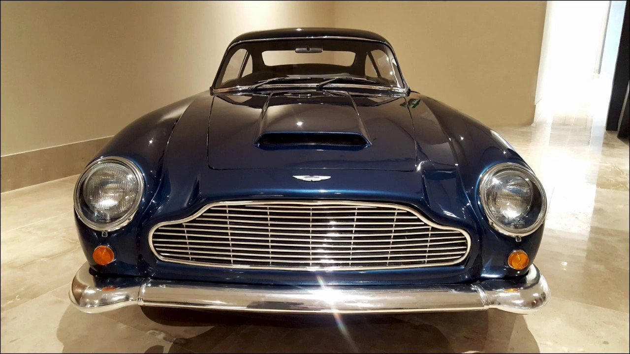 Aston Martin Db5 Kit Car Fiberglass Youtube