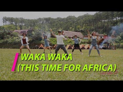 Nhảy Zumba   Waka Waka (This time for Africa) - Shakira   Zumba Fitness Vietnam   Lazum3