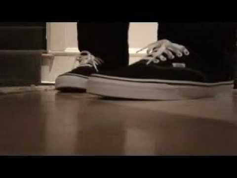 Vans Classic Black On Feet