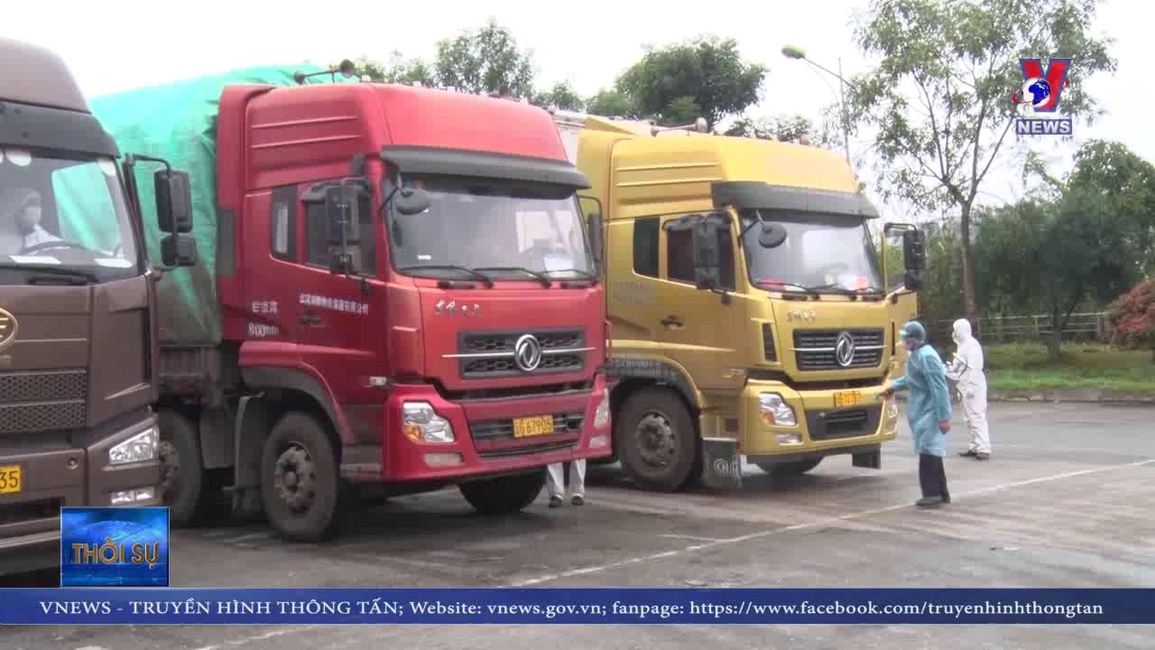 """Các lái xe """"chuyên biệt"""" ở cửa khẩu Lào Cai"""