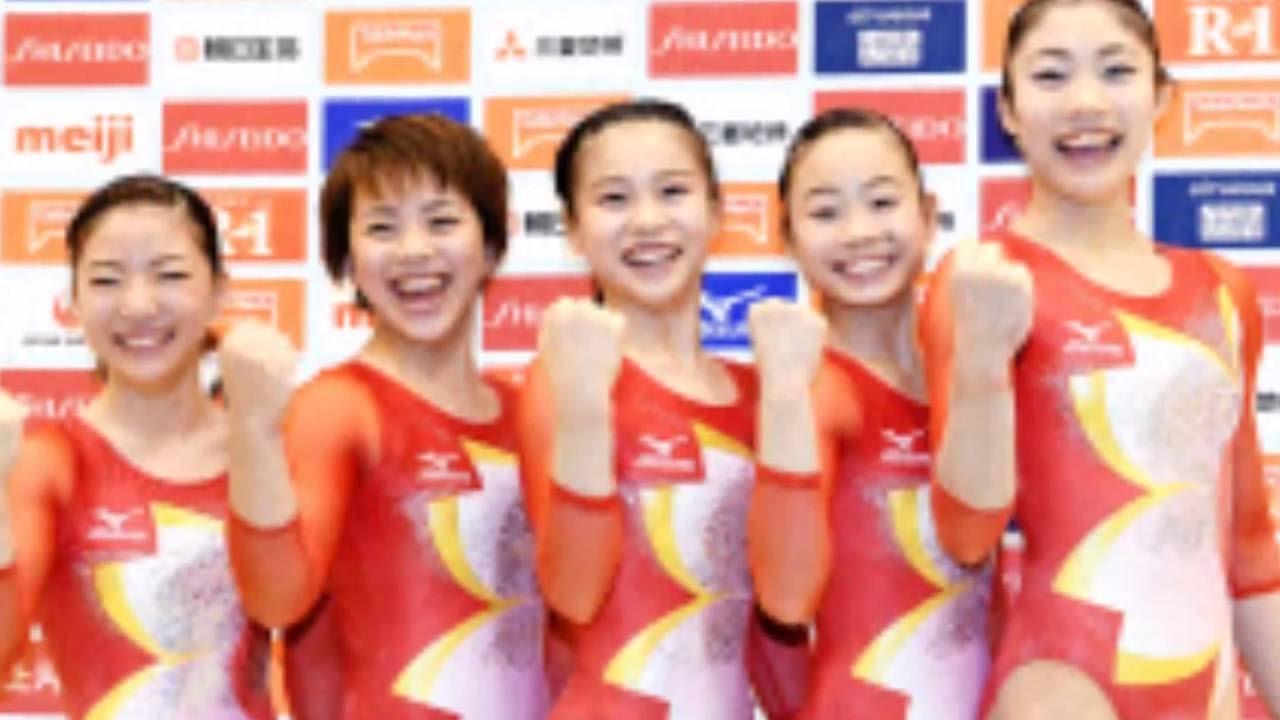 体操女子 体操女子日本代表発表!リオ五輪大注目です!