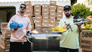 OMG THIS $1MILLION SNEAKER COLLECTION IS INSANE!! *MUST SEE*