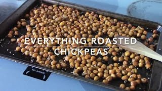 Everything Roasted Chickpeas | Quick Recipes