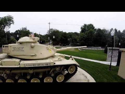 Johnny Ro Veterans Memorial Park in Leominster, MA - M-60A3 Tank