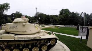 Johnny Ro Veterans Memorial Park in Leominster, MA - M-60A3 Tank