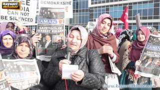 kayseri demokrasi nöbeti sokak röportajı