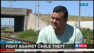 Fight against cable theft