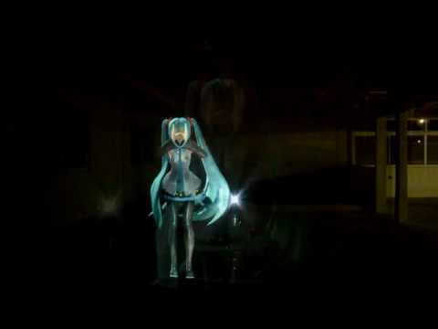 Hatsune Miku Hologram (Doremifa Rondo) 60FPS