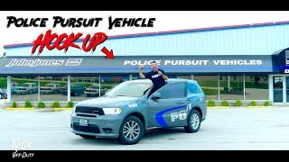 Police Pursuit Vehicle HOOK UP!