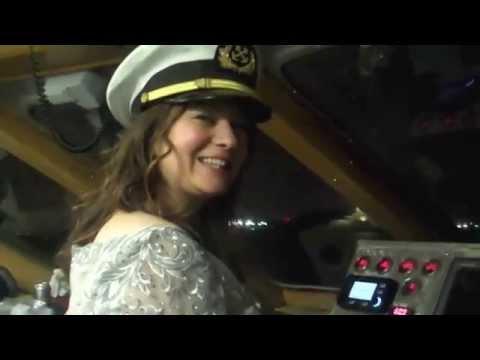 Jeff and Maria's Wedding on Royal Princess, NY Boat Charter 888-755-2628