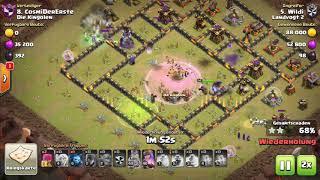 TH10 3Star Taktik • BoWitch • 100% im Clankrieg • Clash of Clans April 2018