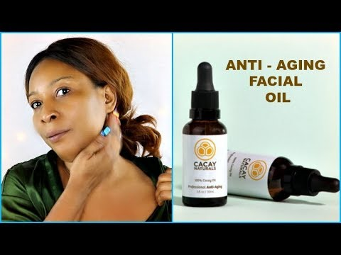 APPLY JUST 2 DROPS FOR YOUNGER WRINKLE FREE SKIN, ANTI AGING FACIAL OIL |Khichi Beauty