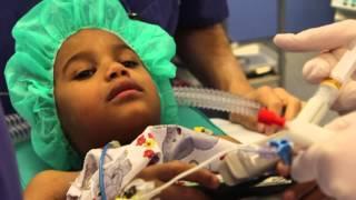 Mohamed Bichi 6 Jahre www.tuisa.de MRT &  1.Op im Krankenhaus