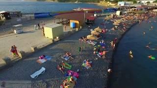 Большой Утриш Пляж с квадрокоптера