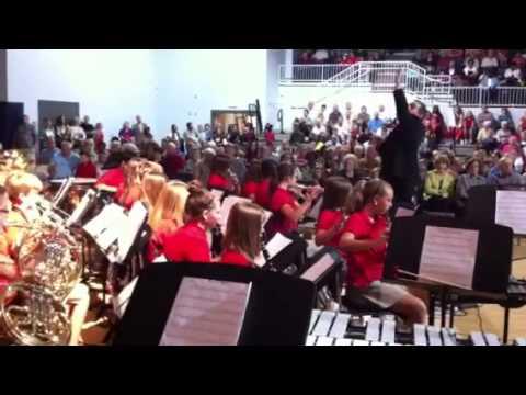 Strong Rock Christian School- Academy Band #1 -10-04-13
