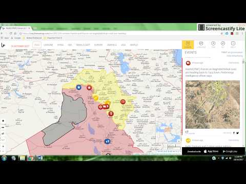 Trend Update: Iraqi Troops Moving on Kurds, October 2017