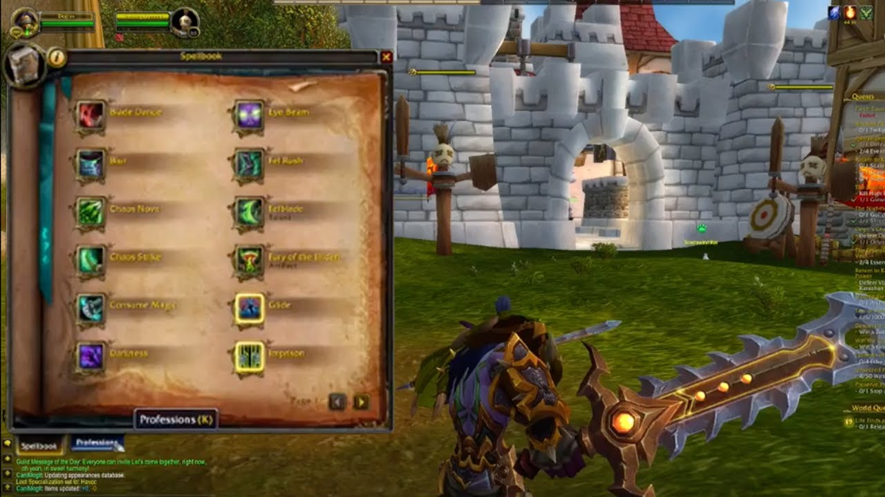 How To Unlearn Professions World Of Warcraft 2019 Youtube