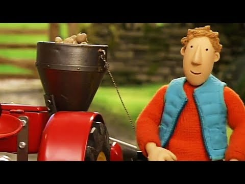 Little Red Tractor | Making Hay | Full Episode | Cartoons For Children