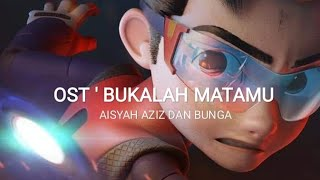 Bukalah Matamu - Aisyah Aziz,  Bunga Lyrics Video (OST Ejen Ali The Movie) - Motivational Made