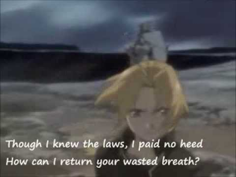 Fullmetal Alchemist  Brothers English Version, with lyrics  Vic Mignogna
