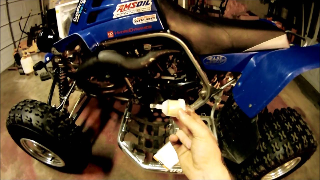 Yamaha Banshee Fuel Filter Install Youtube Inline