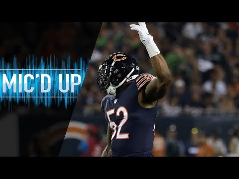 "Khalil Mack Mic'd Up vs. Seahawks ""Hey 20 That Hurt Didn't It?"" 