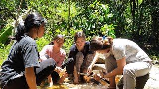 Gadis Dayak    Camping Bersama Gadis Dayak Di Hutan Kalimantan