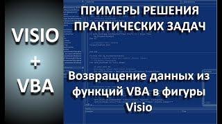 VISIO+VBA | Возвращение значений из функций VBA в фигуры Visio