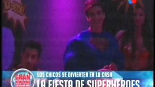 La fiesta de los Super Heroes GH 2015