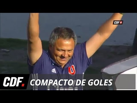 Universidad de Chile 1 - 0 Palestino | 7° Fecha | Torneo Apertura 2016 | CDF