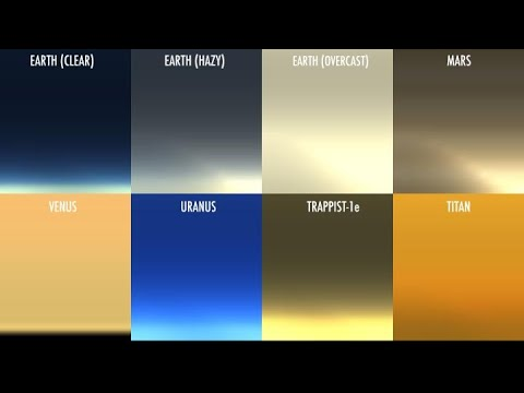 NASA Scientist Simulates Kaleidoscope of Sunsets on Other Worlds