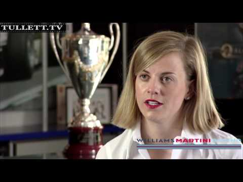 Tullett.TV Current Affairs & Sports:  Formula 1 Driver Susie Wolff filmed for UK Government.