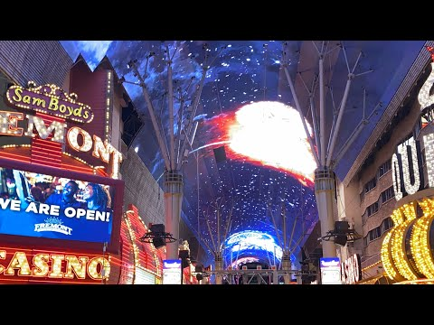 Las Vegas Casinos Are Open! Walkthrough Of Downtown Casinos 12:01 AM June 4, 2020