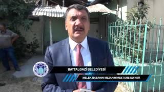 Battalgazi Belediyesi Melek Baba Türbesini Restore Ediyor