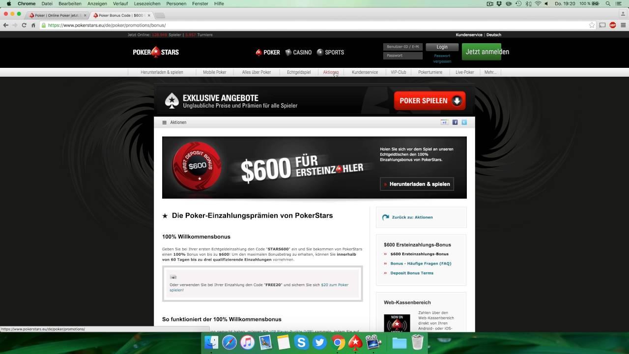lll▷ Pokerstars Erfahrungen +++ 600$ Poker Bonus