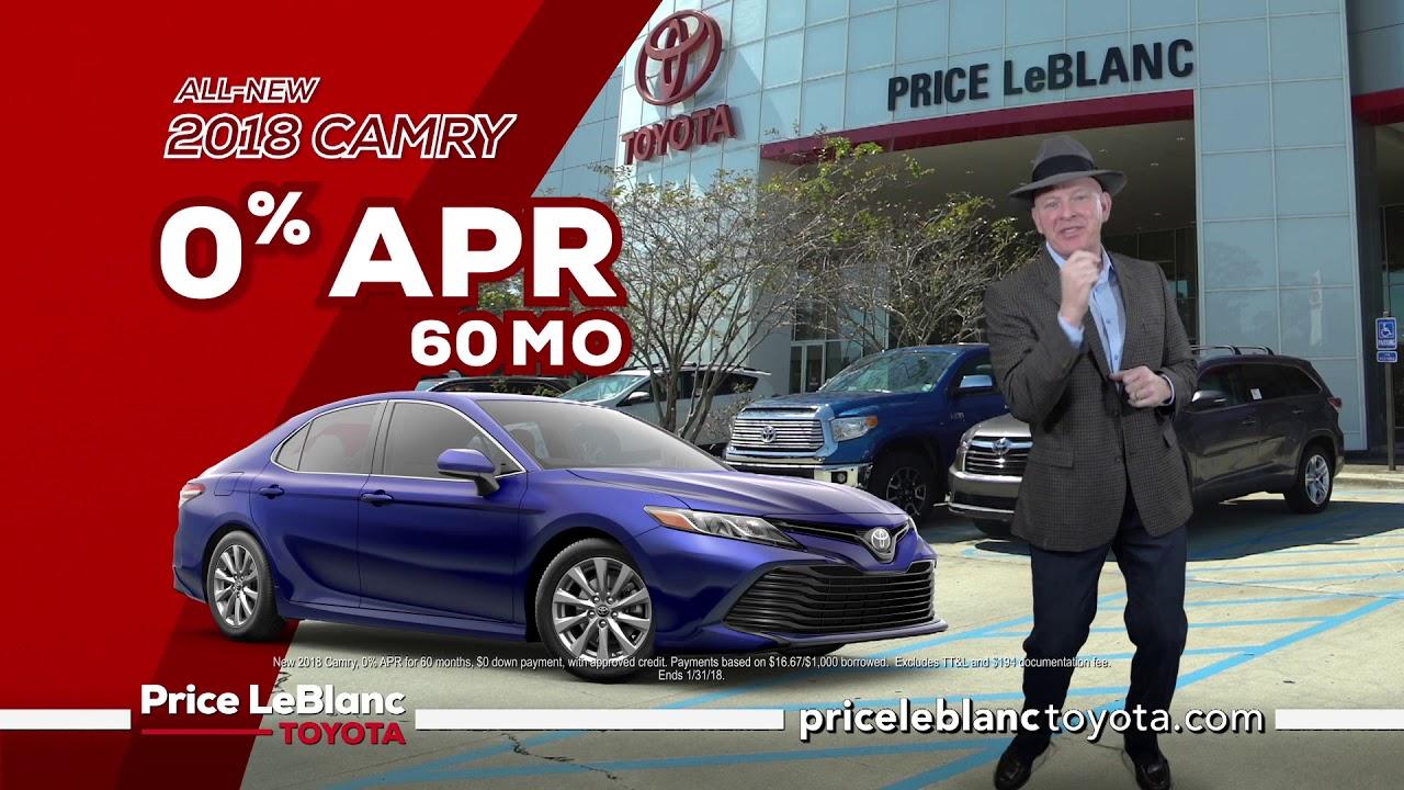 Price Leblanc Toyota 1 Dealer In Louisiana Camry Specials