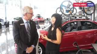 PRESS MINI HOOD ! New GLA with Bill Wilson, Mercedes Benz Vancouver Thumbnail