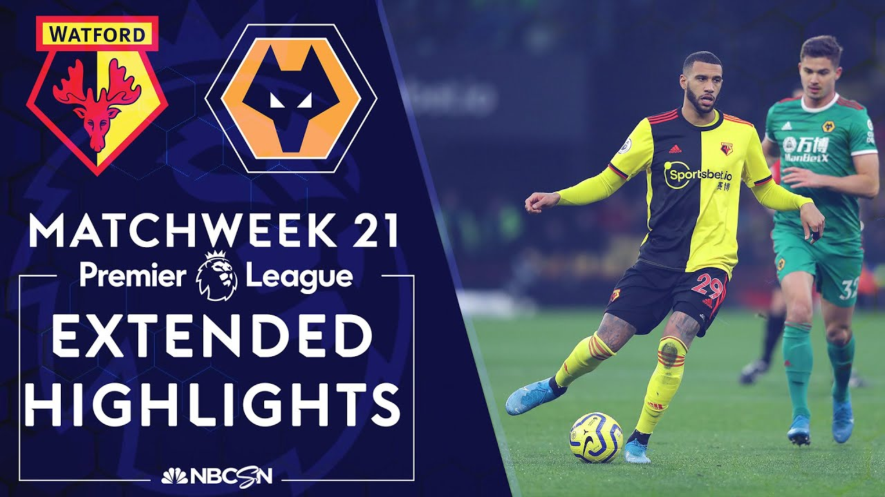 Watford v. Wolves | PREMIER LEAGUE HIGHLIGHTS | 1/1/20 | NBC Sports