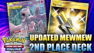 2ND PLACE UPDATED MEWMEW DECK FROM LAIC!! (Pokemon TCG)