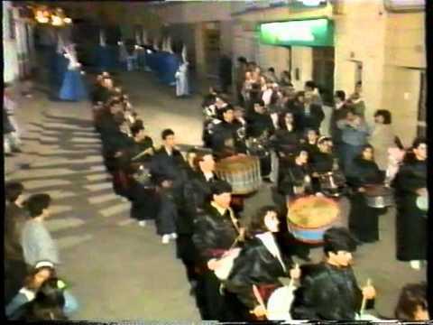 ESTACION ANDORRA FM 1989 - EMISIONES TV - Reportaje SEMANA SANTA ANDORRA