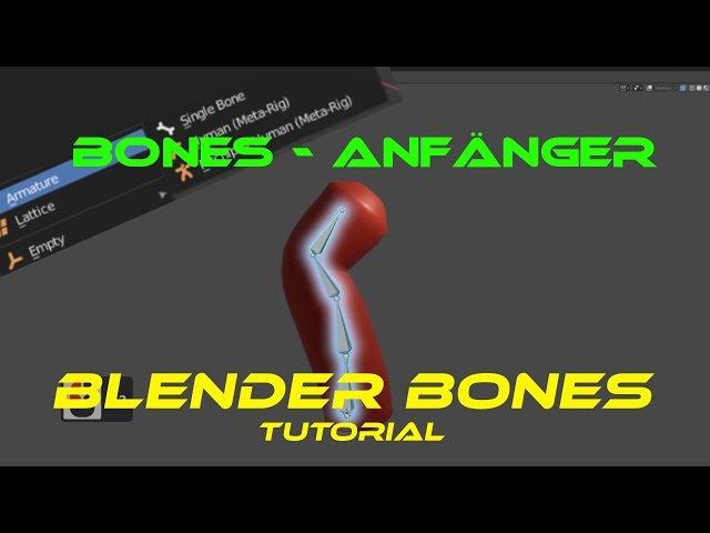 Blender-Tutorial - Einführung in das Riggen mit Bones