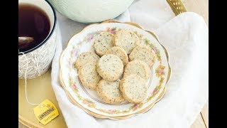伯爵茶牛油曲奇食譜 |Earl Grey Tea Cookies Recipe