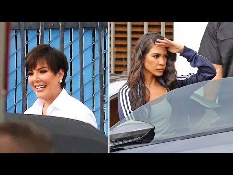 The Kardashians Are Hard At Work Filming KUWTK