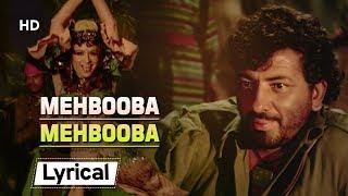Mehbooba Mehbooba With Lyrics | मेहबूबा मेहबूबा  | Sholay (1975) | Helen | Amjad Khan | Item Number