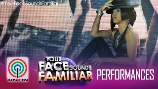 "Your Face Sounds Familiar: Melai Cantiveros as Rihanna - ""Umbrella"""