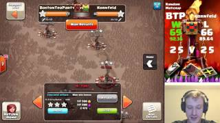 Clash of Clans - BostonTeaParty VS Kornfeld - Random Matchup